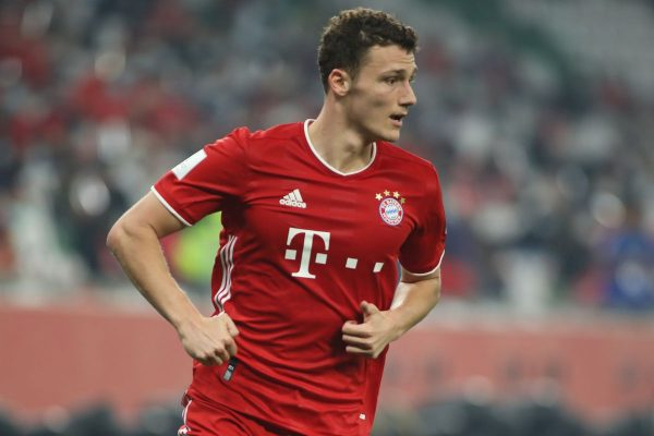 Bayern Munich have good news after the main right-back Benjamin Pavard returned to training on Monday.